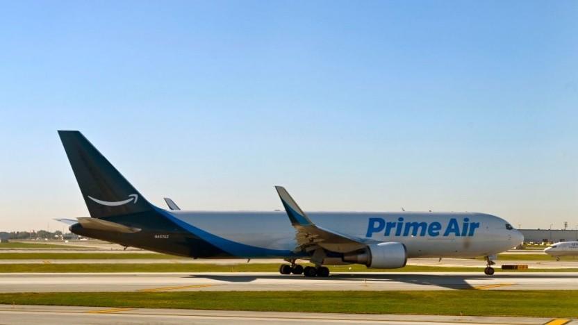 Zusätzlich zu geleasten Maschinen besitzt Amazon nun auch eigene Flugzeuge.