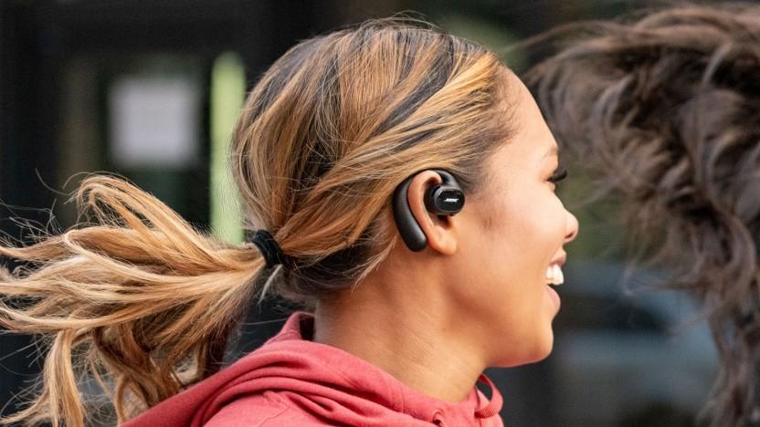 Die Bose Sport Open Earbuds im Einsatz