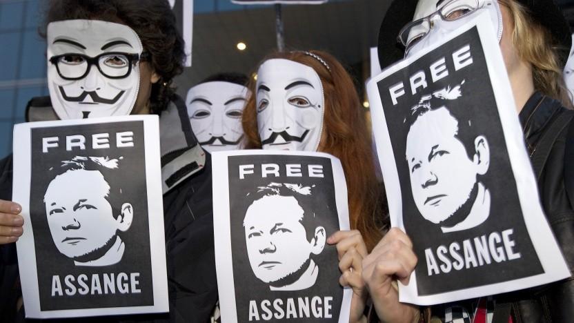 Die Unterstützer von Julian Assange sind nach zehn Jahren immer noch nicht am Ziel.