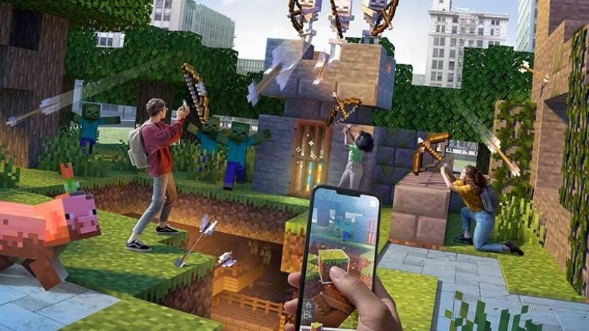 Minecraft Earth sollte die Klötzchenwelt in die echte Welt bringen.