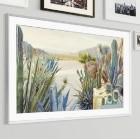 The Frame 2021: Samsungs neuer Frame-TV zeigt Kunstwerke auf QLED-Leinwand