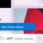 Windows 10: Microsoft testet News-Feed in der Windows-10-Taskleiste