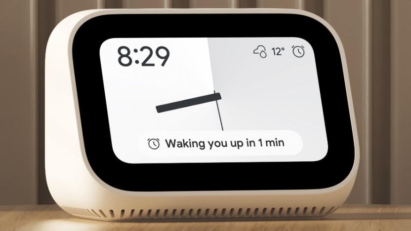 Mi Smart Clock läuft mit Google Assistant.