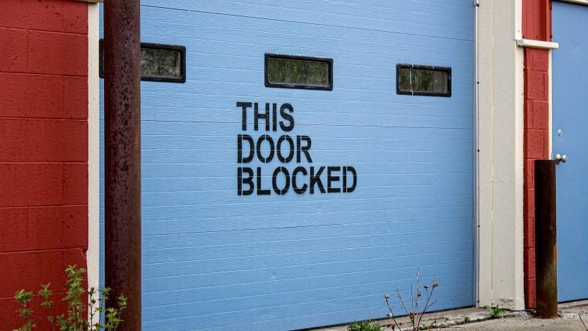 Blockiert