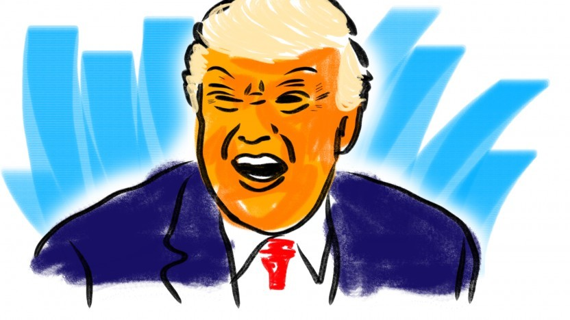Trump muss nun ohne seinen Twitter-Lautsprecher klarkommen.