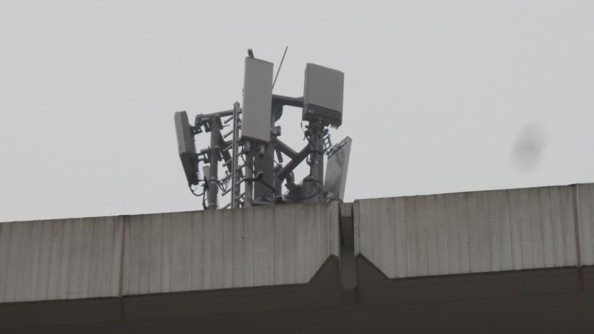 Eine der wenigen 5G-Testanlagen von United Internet