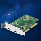 QXP-T32P: Qnap verkauft Thunderbolt-Erweiterungskarte fürs NAS
