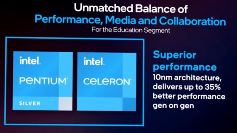 Jasper Lake alias Celeron/Pentium