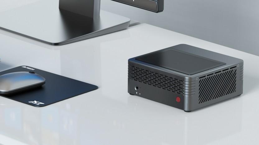 Der Elitemini H31G ist ein kompakter Multimedia-Computer.