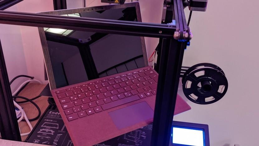 Das Surface Pro 6 sieht genauso aus wie das Surface Pro 7 - und das Surface Pro 7+.