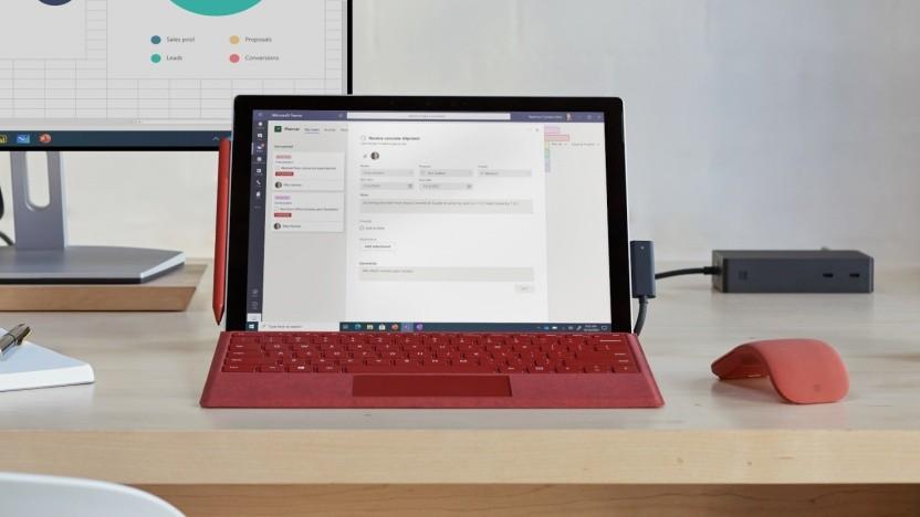 Die Geräte der Surface-Reihe setzen nun standardmäßig auf Hardware-Security.