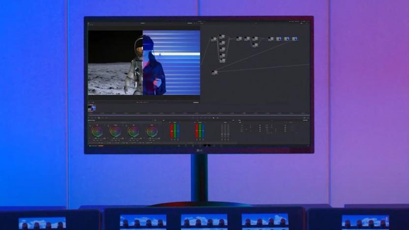 LG baut einen OLED-Monitor für Bildbearbeitung.