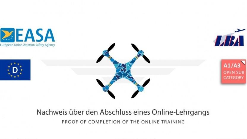 Der Drohnenführerschein ist relativ leicht zu bestehen.