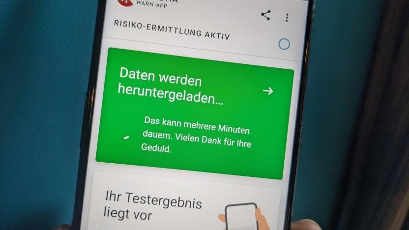 Die Aktualisierung der App ist derzeit bei einigen Android-Geräten gestört.
