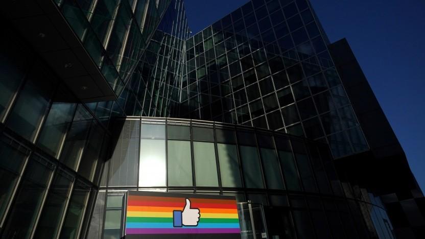 Die europäische Facebook-Zentrale im irischen Dublin