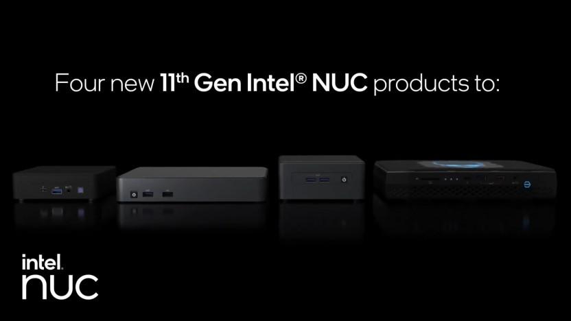 Vier neue NUC11