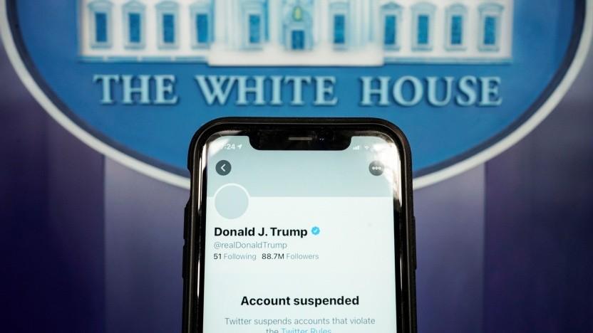 Donald Trumps Twitter-Account bleibt weiter gesperrt.