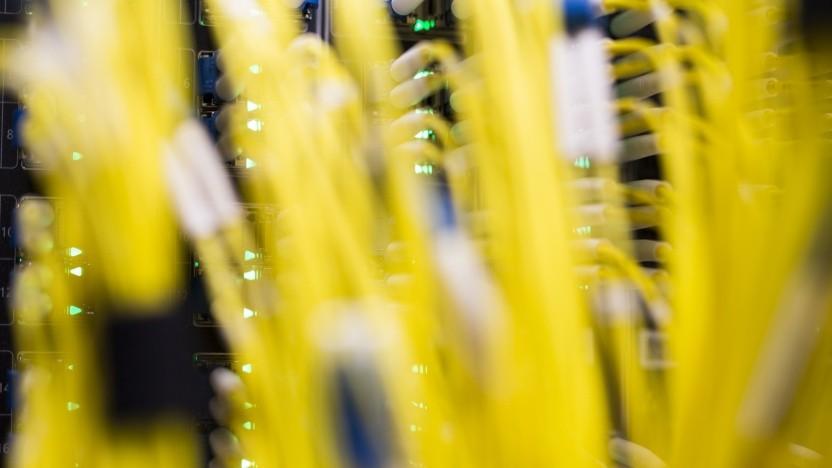 Der Internetknoten DE-CIX