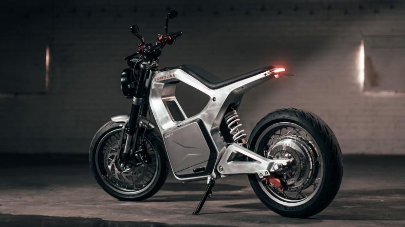 Elektromotorrad The Metacycle: kein Spielzeug, das in der Garage steht