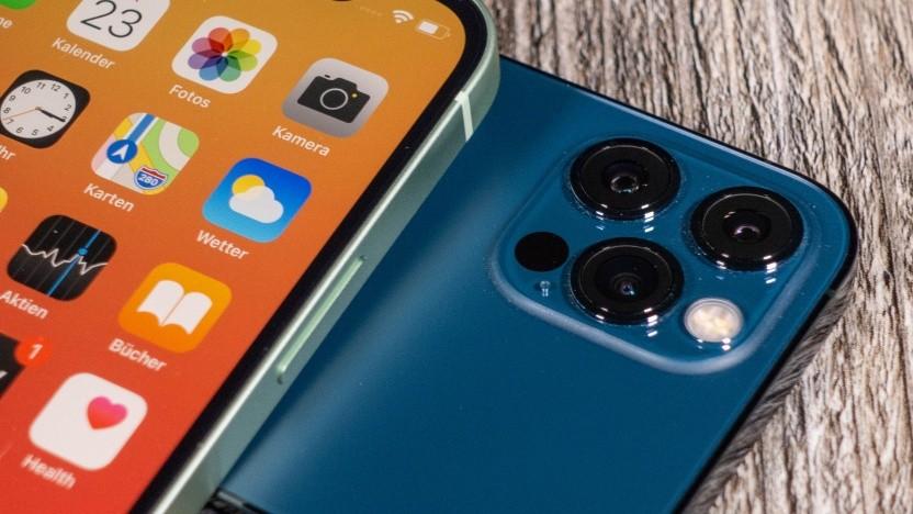 Die Kamera des aktuellen iPhone 12 Pro
