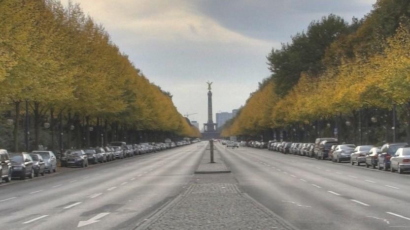 Straße des 17. Juni im Oktober 2006
