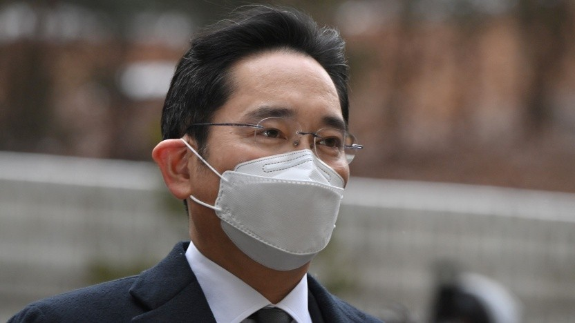 Lee Jae Yong vor dem Gericht in Seoul am 18. Januar 2021