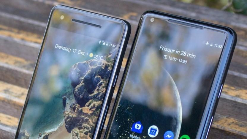 Das Pixel 2 und Pixel 2 XL von Google
