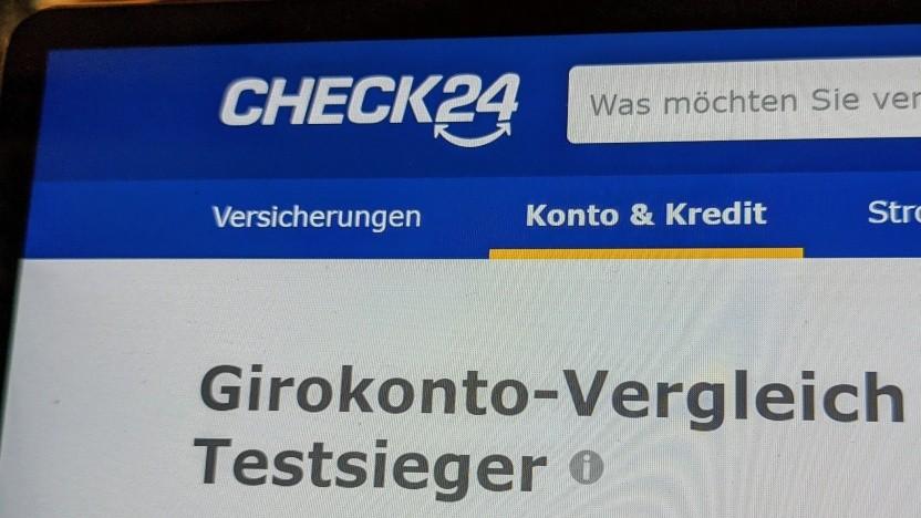 Der Girokonten-Vergleich von Check24