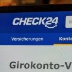Banking: Kein Girokonten-Vergleich mehr bei Check24