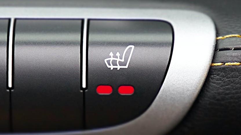 Sitzheizung im Auto (Symbolbild)