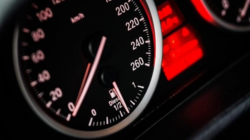 Geschwindigkeitsmessung (Symbolbild)