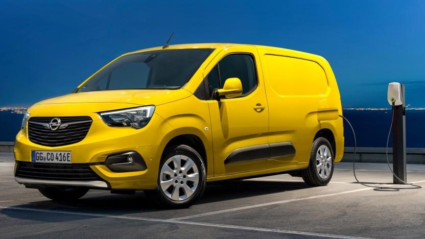 Der Opel Combo-e Cargo