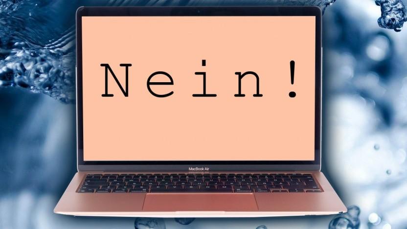 Ein Bildschirmschoner ploppt ohne erkennbaren Grund auf und sperrt Eingaben in MacOS.