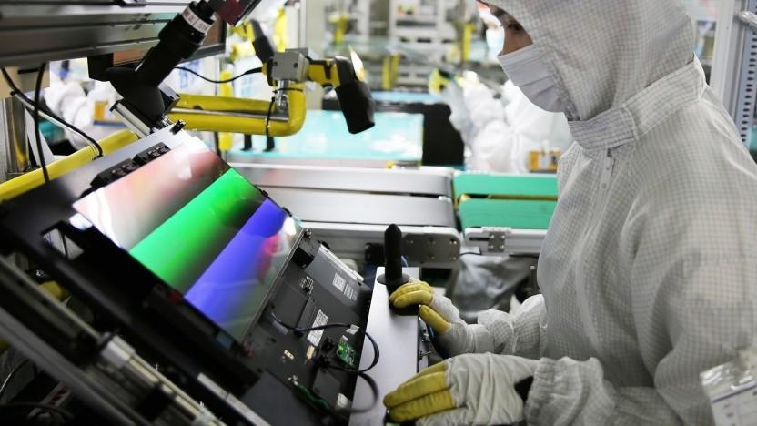 Samsung baut diverse OLED-Panels in verschiedenen Größen und Ausstattungen.