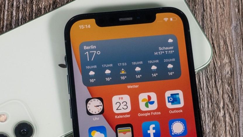 Im Preis stabiler als die Android-Konkurrenz: das iPhone 12
