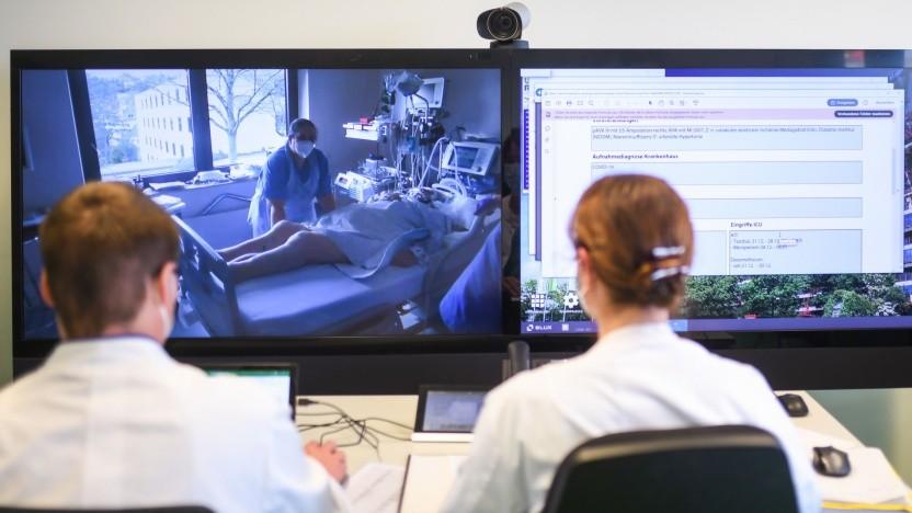 Telemedizin an der Universitätsklinik Aachen im Januar 2021
