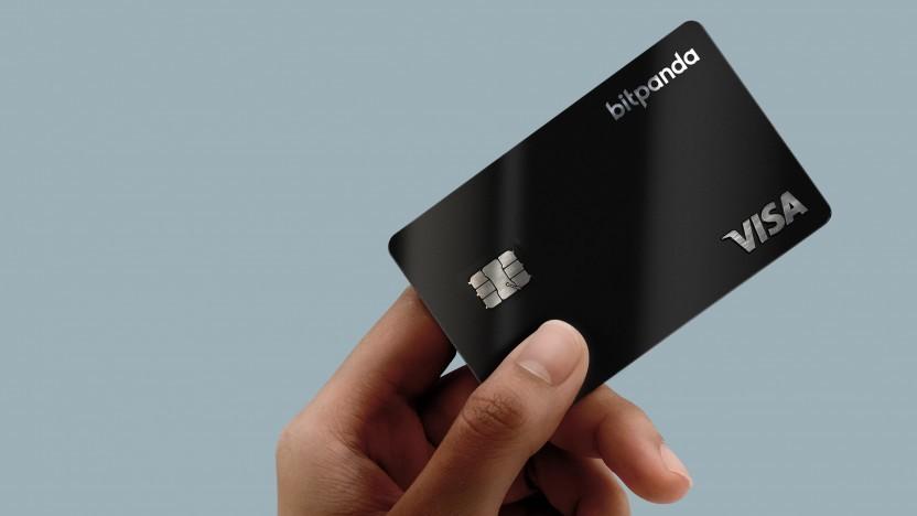 In Bitcoins zahlen mit der Visa.