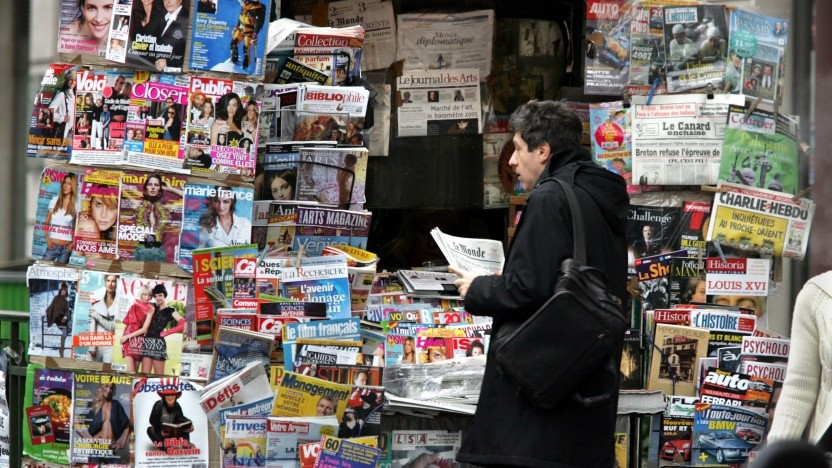 Französische Medien sollen vom Leistungsschutzrecht profitieren.