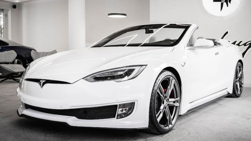 Model S als Cabrio