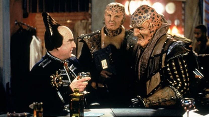 Babylon 5 war schon damals eine teils skurrile Serie.