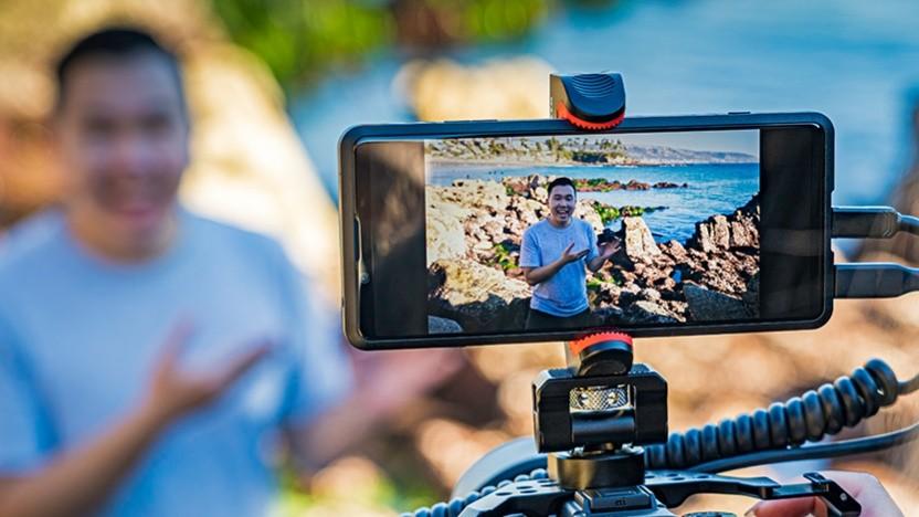 Das Xperia Pro richtet sich an Besitzer einer Sony-Alpha-Kamera.