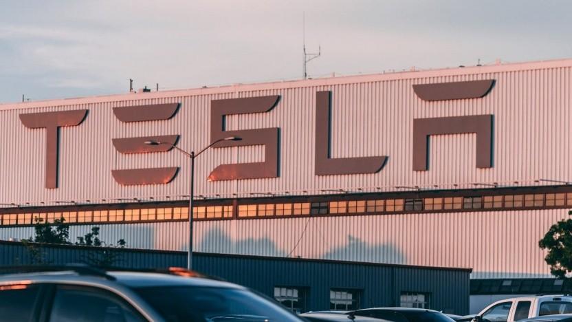 Tesla-Fabrik in den USA