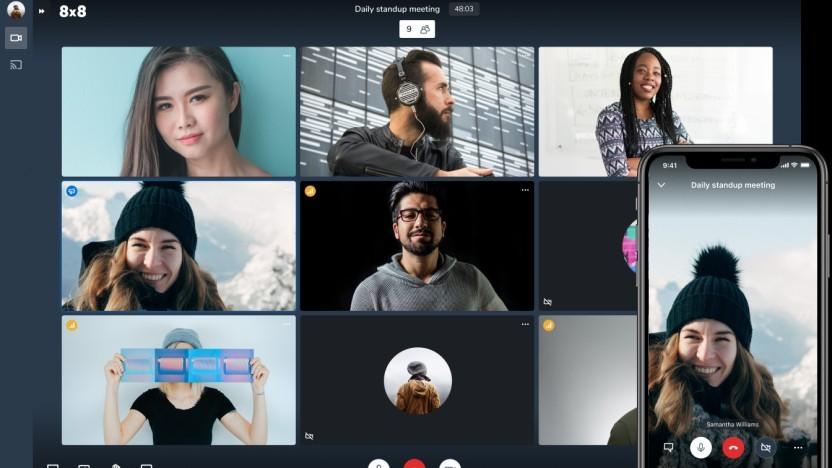 Den Videochat Jitsi gibt es nun auch als Hosting-Angebot direkt von den Machern selbst.