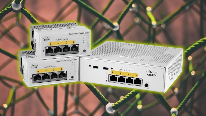 Cisco baut mehr kleine Switches.