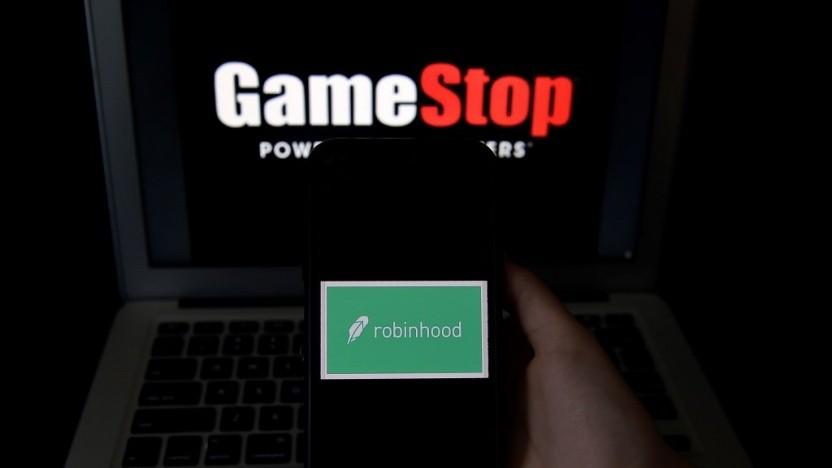 Der Handel von Gamestop-Aktien war bei Apps wie Robinhood zwischenzeitlich ausgesetzt.