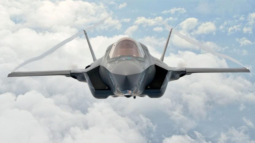 Eine F-35 Lightning II