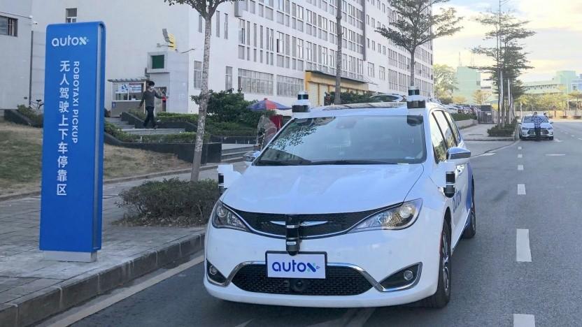 Fahrerloses Taxi in Shenzhen: sicherere Straßen durch autonome Fahrzeuge