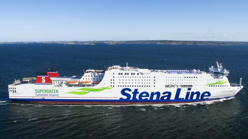 Die Fährlinie Stena Line wirbt damit, dass sie Methanol als Treibstoff einsetzt, doch bisher stammt das noch aus fossilen Quellen.