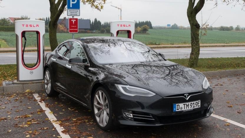 Tesla Model S: zu viele Schreibvorgänge