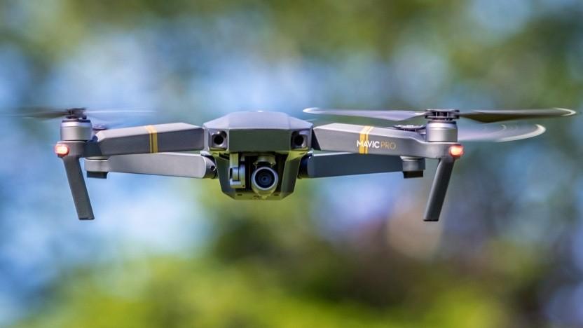 Ein Multicopter von DJI